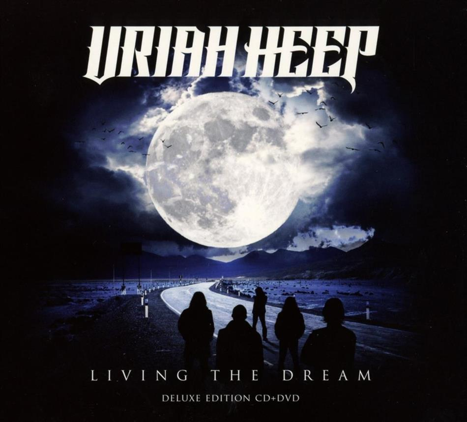Uriah Heep - Living The Dream (Digipack, Deluxe Edition, CD + DVD)
