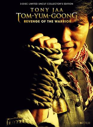 Tom-Yum-Goong - Revenge of the Warrior (2005) (Cover A, Collector's Edition, Limited Edition, Mediabook, Uncut, Blu-ray + 2 DVDs)