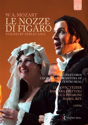 Orchestra of the Teatro Real Madrid, Lopez Cobos, … - Mozart - Le nozze di Figaro (Euro Arts, 2 DVDs)