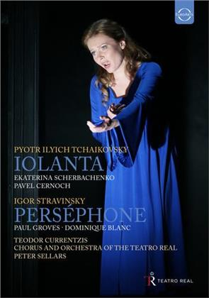 Orchestra of the Teatro Real Madrid, … - Stravinsky - Persephone / Tchaikovsky - Iolanta (Euro Arts, 2 DVDs)