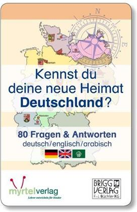 Kennst du deine neue Heimat Deutschland? (Kartenspiel)