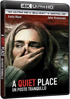 A Quiet Place - Un posto tranquillo (2018) (4K Ultra HD + Blu-ray)
