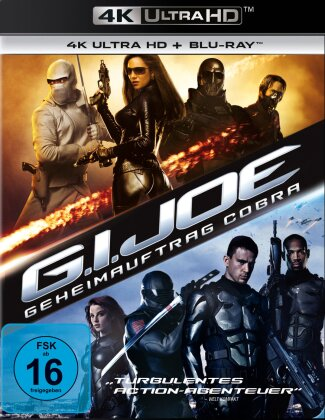 G.I. Joe - Geheimauftrag Cobra (2009) (4K Ultra HD + Blu-ray)