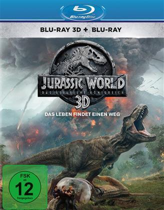 Jurassic World 2 - Das gefallene Königreich (2018) (Blu-ray 3D + Blu-ray)