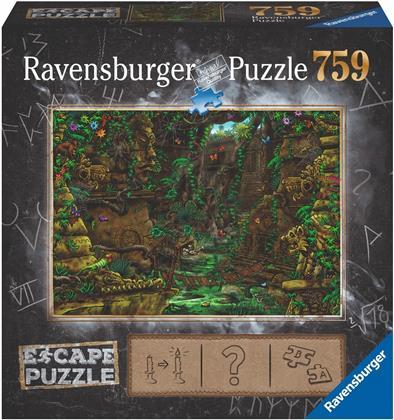 Escape Puzzle 2: Tempel in Ankor Wat - 759 Teile Puzzle
