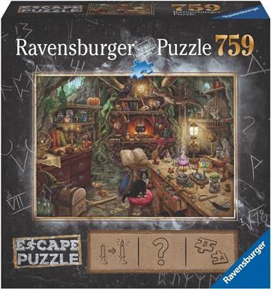 Escape Puzzle 3: Hexenküche - 759 Teile Puzzle
