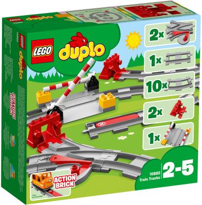 LEGO© 10882 DUPLO© - Eisenbahn Schienen