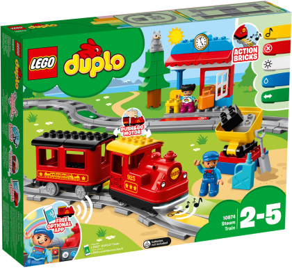 LEGO© 10874 DUPLO© - Dampfeisenbahn