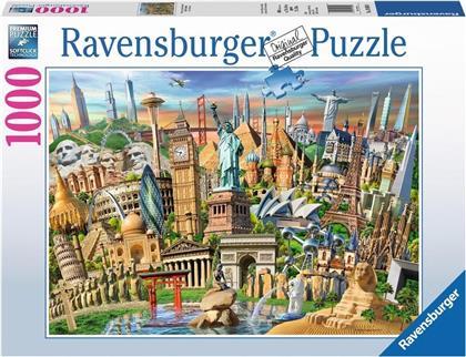 Sehenswürdigkeiten Weltweit - 1000 Teile Puzzle