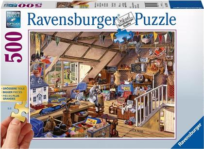 Grossmutters Dachboden - 500 Teile Puzzle