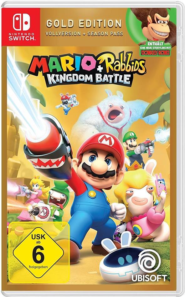 Mario & Rabbids Kingdom Battle (German Gold Edition)