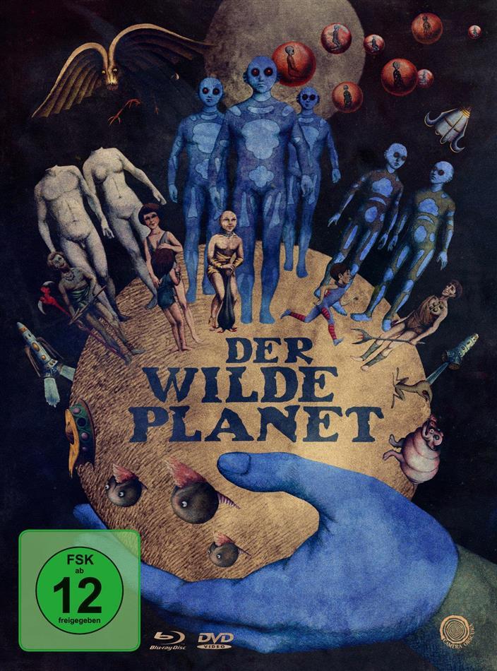 Der wilde Planet (1973) (Limited Edition, Mediabook, Restaurierte Fassung, Uncut, Blu-ray + 2 DVDs)