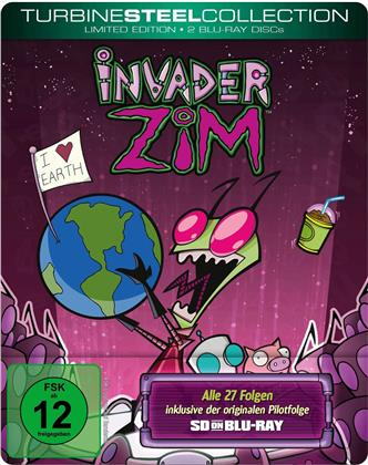 Invader Zim - Turbine Steel Collection (Steelbook, 2 Blu-ray)