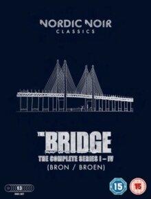 The Bridge - Seasons 1-4 (Nordic Noir Classics, 13 DVDs)