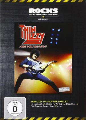 Thin Lizzy - Live at Rockpalast - Are you ready? (Rocks Edition)