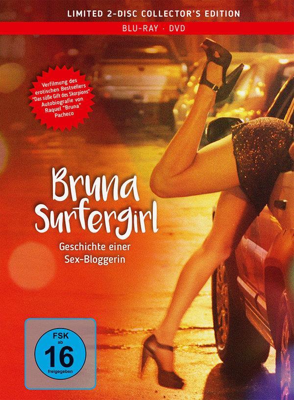 Bruna Surfergirl - Geschichte einer Sex-Bloggerin (2011) (Collector's Edition, Mediabook, Blu-ray + DVD)