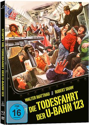 Stoppt die Todesfahrt der U-Bahn 123 (1974) (Cover A, Collector's Edition, Limited Edition, Mediabook, Blu-ray + DVD)