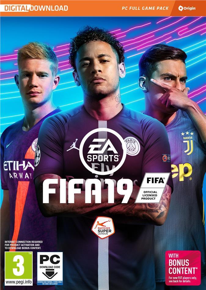 Fifa 19 - (Code in a Box)