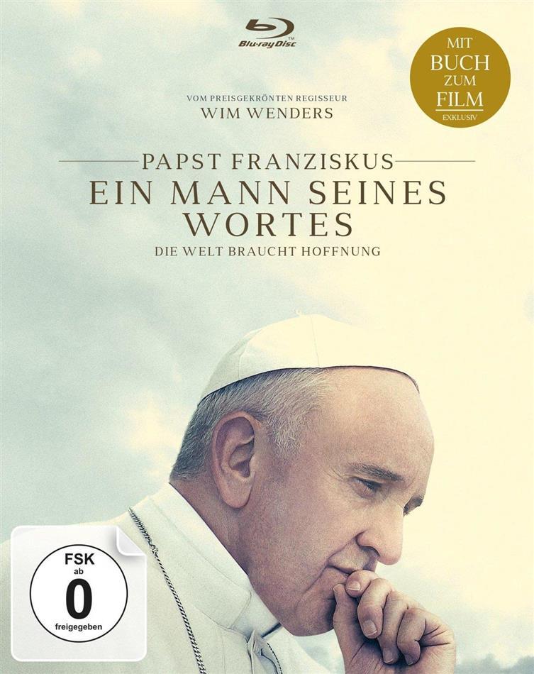 Papst Franziskus - Ein Mann seines Wortes (2018) (Blu-ray + Buch)