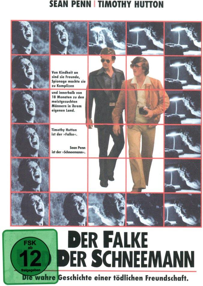 Der Falke und der Schneemann (1985) (Cover B, Collector's Edition, Limited Edition, Mediabook, Blu-ray + DVD)