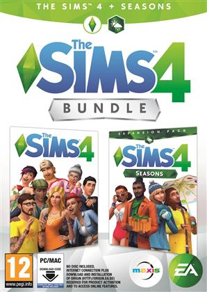 The Sims 4 + Seasons Bundle - (Code in a Box)