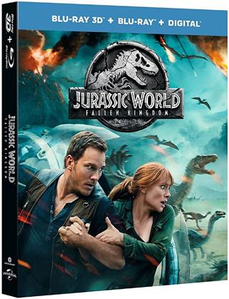 Jurassic World 2 - Fallen Kingdom (2018) (Blu-ray 3D + Blu-ray)
