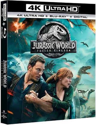 Jurassic World 2 - Fallen Kingdom (2018) (4K Ultra HD + Blu-ray)