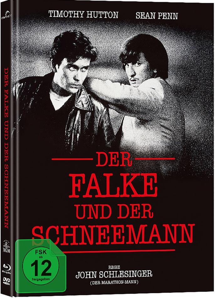 Der Falke und der Schneemann (1985) (Cover A, Collector's Edition, Limited Edition, Mediabook, Blu-ray + DVD)
