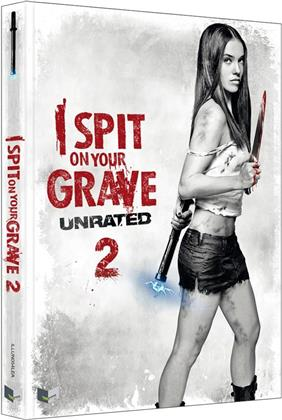 I Spit on Your Grave 2 (2013) (Cover A, Limited Edition, Mediabook, Uncut, Unrated, Blu-ray + DVD)