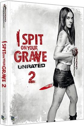I Spit on Your Grave 2 (2013) (Cover B, Limited Edition, Mediabook, Uncut, Unrated, Blu-ray + DVD)