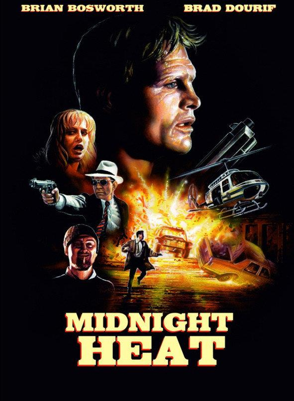 Midnight Heat (1996) (Cover B, Limited Edition, Mediabook, Blu-ray + DVD)
