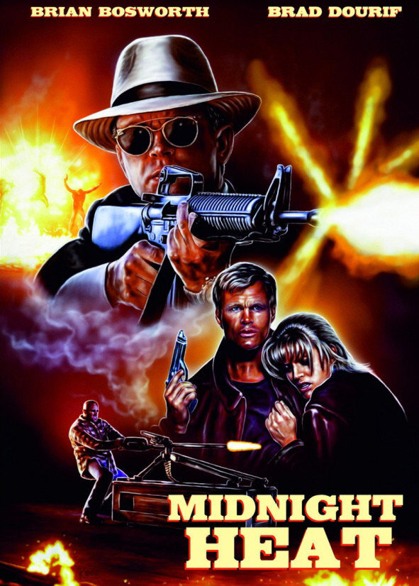 Midnight Heat (1996) (Cover A, Limited Edition, Mediabook, Blu-ray + DVD)
