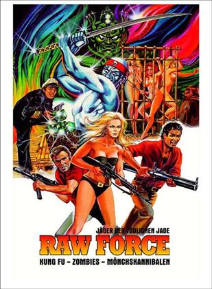Raw Force - Jäger des tödlichen Jade (1982) (Cover B, Limited Edition, Mediabook, Blu-ray + DVD)
