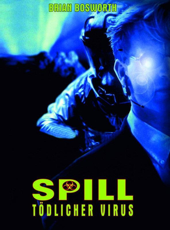 Spill - Tödlicher Virus (1996) (Cover B, Limited Edition, Mediabook, Blu-ray + DVD)
