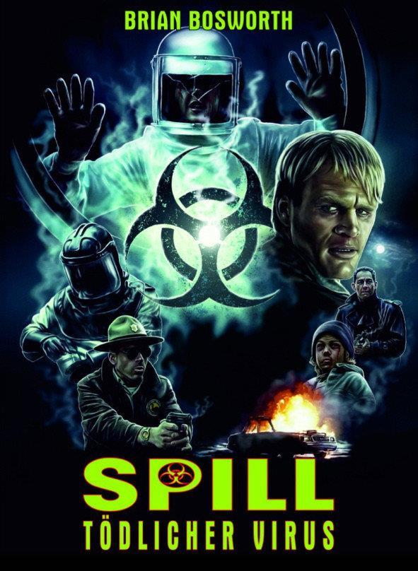 Spill - Tödlicher Virus (1996) (Cover A, Limited Edition, Mediabook, Blu-ray + DVD)