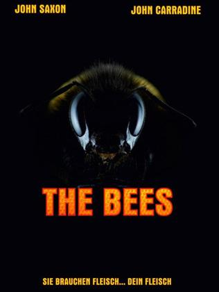 The Bees (1978) (Cover B, Limited Edition, Mediabook, Blu-ray + DVD)