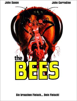 The Bees (1978) (Cover A, Limited Edition, Mediabook, Blu-ray + DVD)