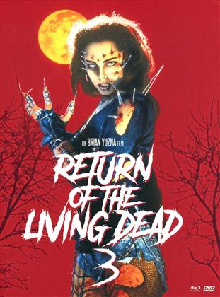 Return of the Living Dead 3 (1993) (Mediabook, Unrated, Blu-ray + 2 DVDs)