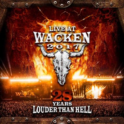 Live At Wacken 2017-28 Years Louder Than Hell (3 CDs + DVD)