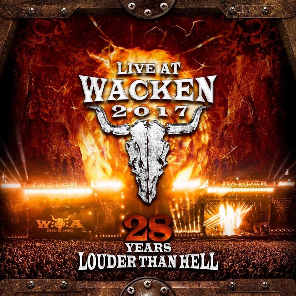 Live At Wacken 2017-28 Years Louder Than Hell (3 CDs + DVD)