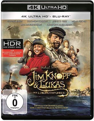 Jim Knopf & Lukas der Lokomotivführer (2018) (4K Ultra HD + Blu-ray)