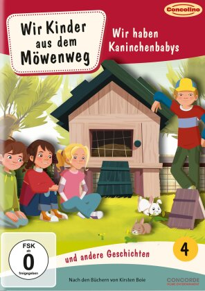 Wir Kinder aus dem Möwenweg - Staffel 2 Vol. 4 - Wir haben Kaninchenbabys und andere Geschichten