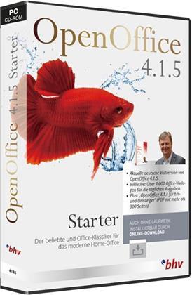 OpenOffice 4.1.5 Starter