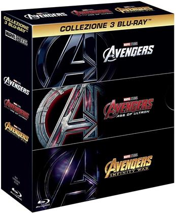 The Avengers 1-3 (3 Blu-rays)