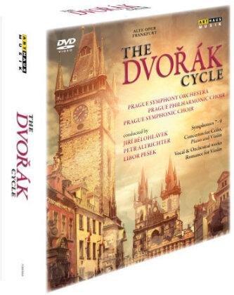 Prague Symphony Orchestra, Jiri Belohlavek, Petr Altrichter & Libor Peŝek - The Dvorák Cycle - Symphonies Nos. 7-9 / Stabat mater / Requiem (Arthaus Musik, 6 DVDs)