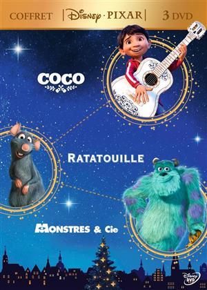 Coco / Ratatouille / Monstres & Cie (3 DVDs)