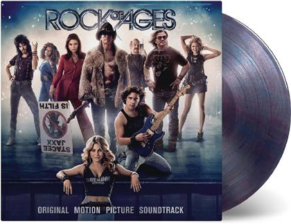 Rock Of Ages (OST) - OST (Music On Vinyl, Clear Red & Blue Vinyl, 2 LPs)
