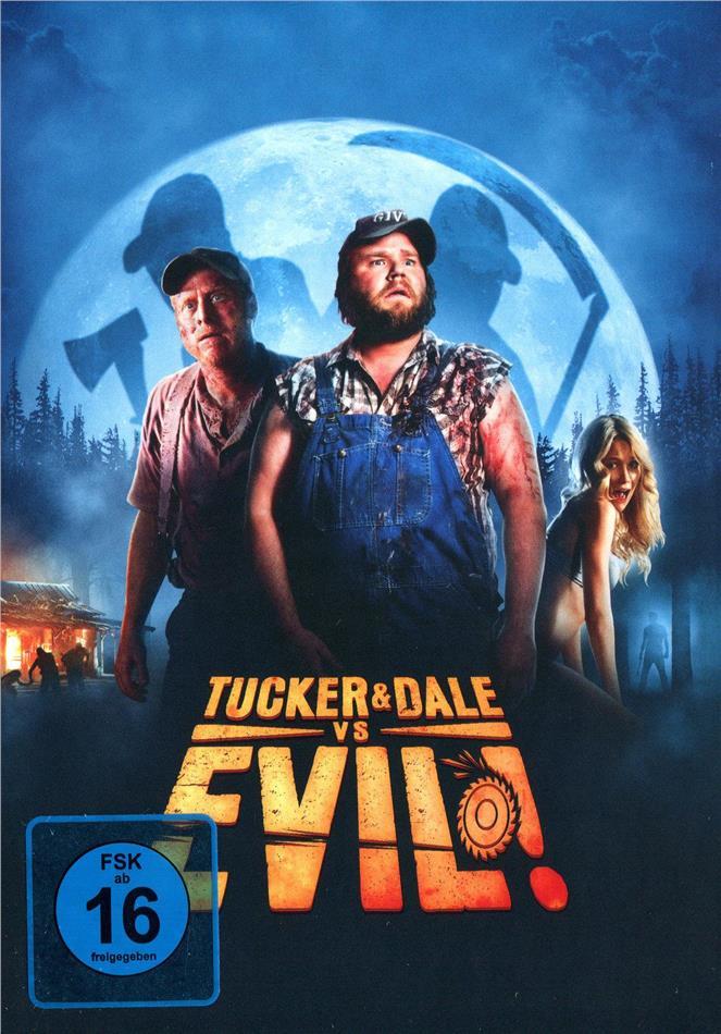 Tucker & Dale vs Evil! (2010) (Cover B, Limited Edition, Mediabook, 2 Blu-rays)