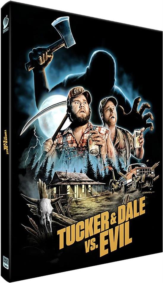 Tucker & Dale vs. Evil (2010) (Cover A, Limited Edition, Mediabook, 2 Blu-rays)