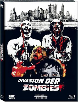 Invasion der Zombies (1974) (Cover A, Limited Edition, Mediabook, Uncut, Blu-ray + DVD)